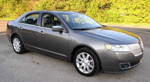2010 Lincoln MKZ for sale at Angelo's Auto Sales in Lowellville OH