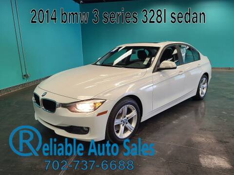 2014 BMW 3 Series for sale at Reliable Auto Sales in Las Vegas NV
