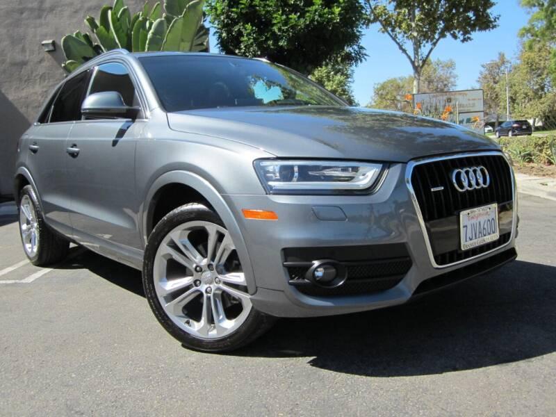 2015 Audi Q3 for sale at ORANGE COUNTY AUTO WHOLESALE in Irvine CA