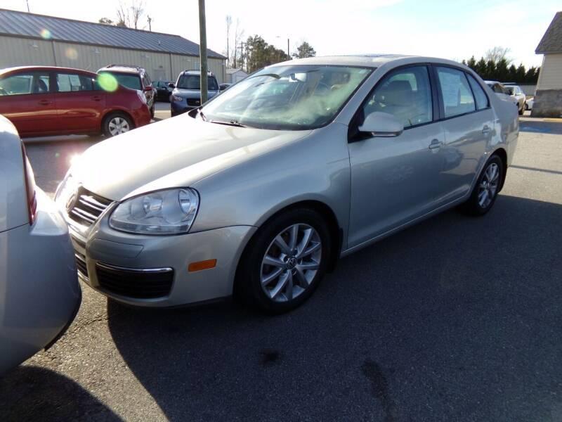 2010 Volkswagen Jetta for sale at Creech Auto Sales in Garner NC
