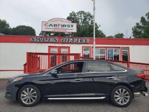 2016 Hyundai Sonata for sale at CARFIRST ABERDEEN in Aberdeen MD