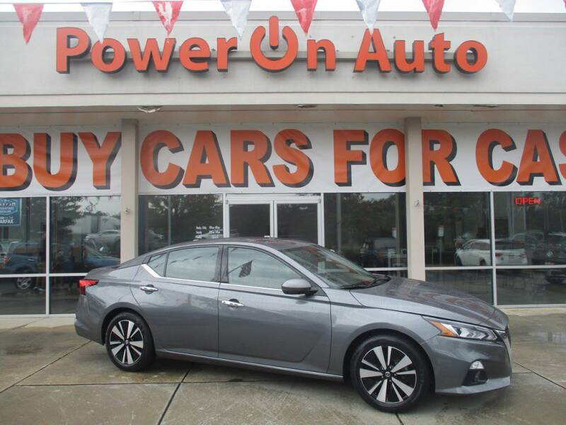 2019 Nissan Altima for sale at Power On Auto LLC in Monroe NC