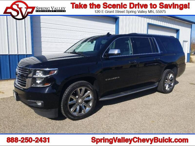2016 Chevrolet Suburban for sale at Spring Valley Chevrolet Buick in Spring Valley MN