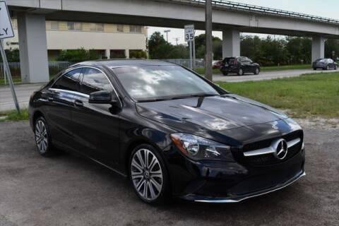 2018 Mercedes-Benz CLA for sale at AE Of Miami in Miami FL