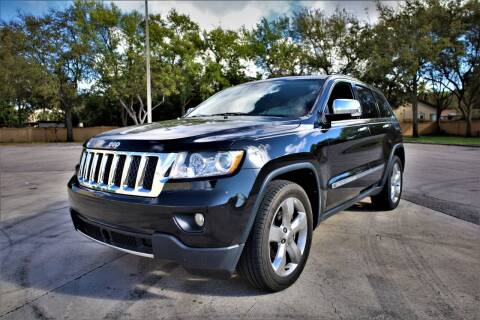2013 Jeep Grand Cherokee for sale at Easy Deal Auto Brokers in Hollywood FL