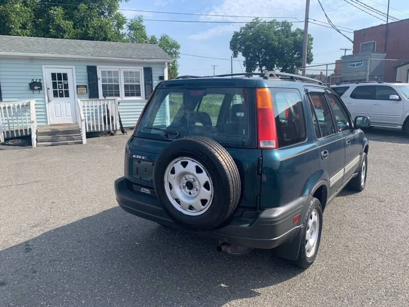 1997 Honda CR-V for sale at LINDER'S AUTO SALES in Gastonia NC
