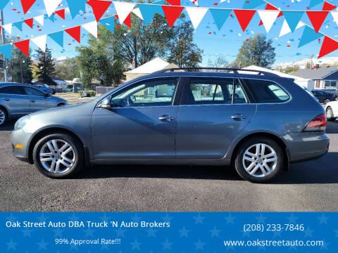 2010 Volkswagen Jetta for sale at Oak Street Auto DBA Truck 'N Auto Brokers in Pocatello ID