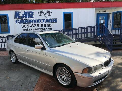 2003 BMW 5 Series for sale at Kar Connection in Miami FL