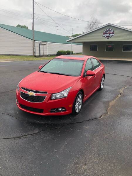 2013 Chevrolet Cruze for sale at Austin Auto in Coldwater MI