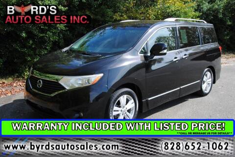 2012 Nissan Quest for sale at Byrds Auto Sales in Marion NC