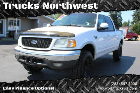 2002 Ford F-150 for sale at Trucks Northwest in Spanaway WA