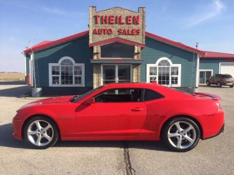 2015 Chevrolet Camaro for sale at THEILEN AUTO SALES in Clear Lake IA
