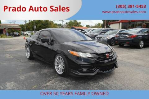 2015 Honda Civic for sale at Prado Auto Sales in Miami FL