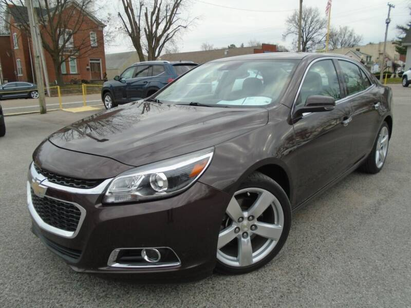 2015 Chevrolet Malibu for sale at Total Eclipse Auto Sales & Service in Red Bud IL