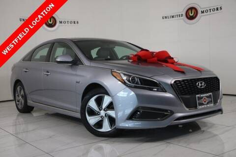 2017 Hyundai Sonata Hybrid for sale at INDY'S UNLIMITED MOTORS - UNLIMITED MOTORS in Westfield IN