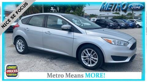 2015 Ford Focus for sale at Your First Vehicle in Miami FL