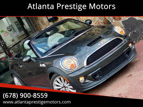 2013 MINI Roadster for sale at Atlanta Prestige Motors in Decatur GA