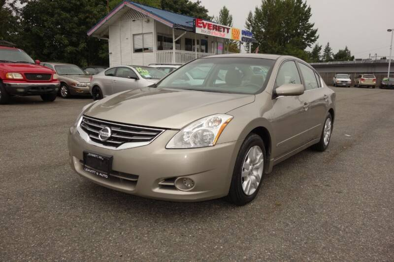 2012 Nissan Altima for sale at Leavitt Auto Sales and Used Car City in Everett WA