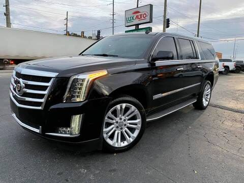 2015 Cadillac Escalade ESV for sale at Lux Auto in Lawrenceville GA