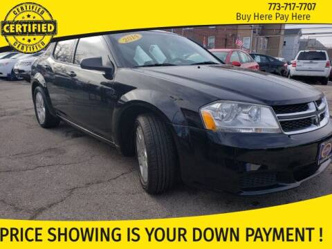 2014 Dodge Avenger for sale at AutoBank in Chicago IL