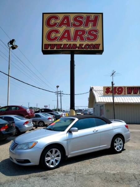 2011 Chrysler 200 Convertible for sale in Dallas, TX