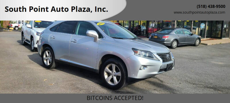 2015 Lexus RX 350 for sale at South Point Auto Plaza, Inc. in Albany NY