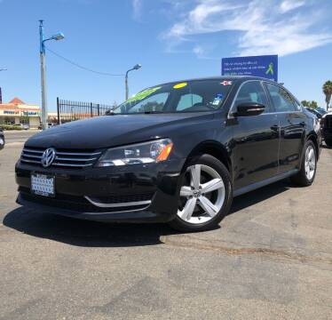 2012 Volkswagen Passat for sale at LUGO AUTO GROUP in Sacramento CA