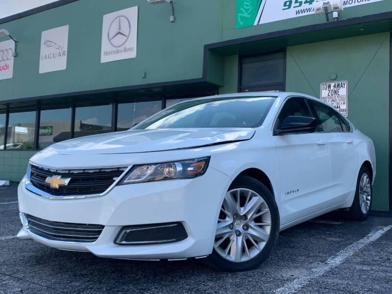 2015 Chevrolet Impala for sale at KARZILLA MOTORS in Oakland Park FL