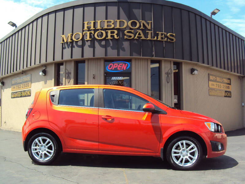 2012 Chevrolet Sonic for sale at Hibdon Motor Sales in Clinton Township MI