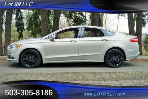 2015 Ford Fusion for sale at LOT 99 LLC in Milwaukie OR