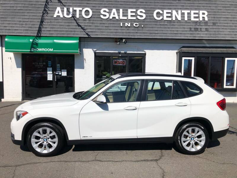 2014 BMW X1 for sale at Auto Sales Center Inc in Holyoke MA