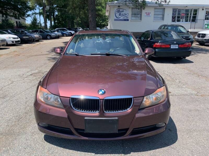 2006 BMW 3 Series for sale at MEEK MOTORS in North Chesterfield VA