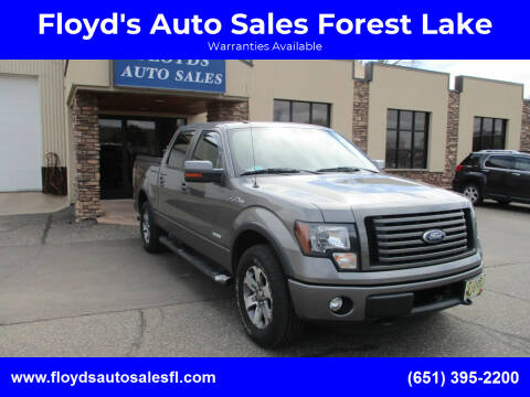 2011 Ford F-150 for sale at Floyd's Auto Sales Forest Lake in Forest Lake MN