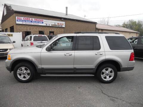2004 Ford Explorer for sale at All Cars and Trucks in Buena NJ