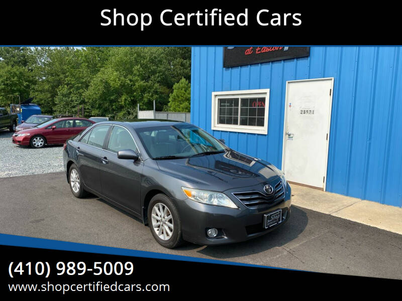 2011 Toyota Camry for sale at Shop Certified Cars in Easton MD