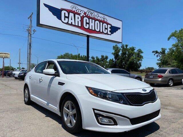 2014 Kia Optima for sale at Ray Hibdon's Car Choice in Oklahoma City OK