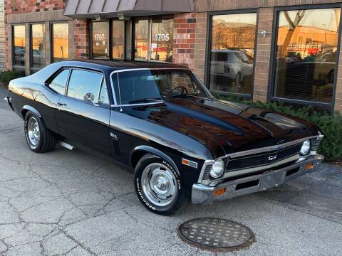 1969 Chevrolet Nova for sale at MGM CLASSIC CARS in Addison IL