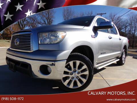 2010 Toyota Tundra for sale at Calvary Motors, Inc. in Bixby OK