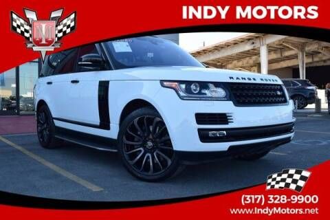 2017 Land Rover Range Rover for sale at Indy Motors Inc in Indianapolis IN