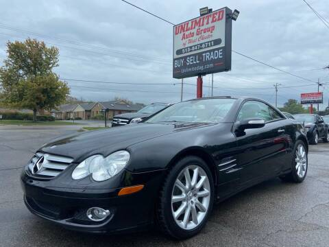 2007 Mercedes-Benz SL-Class for sale at Unlimited Auto Group in West Chester OH
