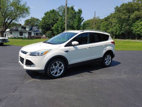 2014 Ford Escape for sale at Depue Auto Sales Inc in Paw Paw MI