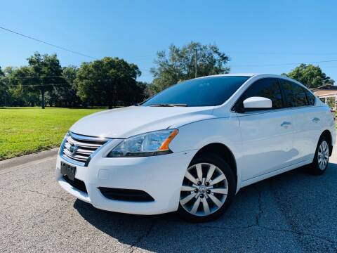 2015 Nissan Sentra for sale at FLORIDA MIDO MOTORS INC in Tampa FL