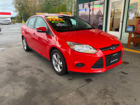 2013 Ford Focus for sale at Low Auto Sales in Sedro Woolley WA