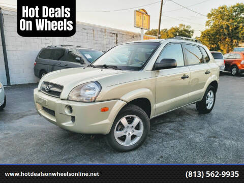 2008 Hyundai Tucson for sale at Hot Deals On Wheels in Tampa FL