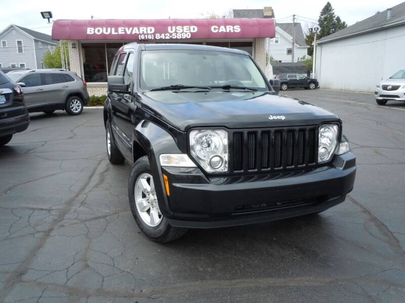 2011 Jeep Liberty for sale at Boulevard Used Cars in Grand Haven MI
