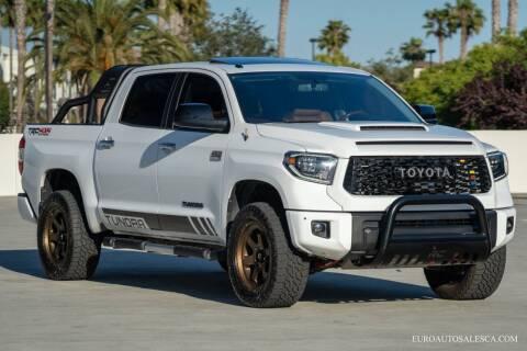 2014 Toyota Tundra for sale at Euro Auto Sales in Santa Clara CA