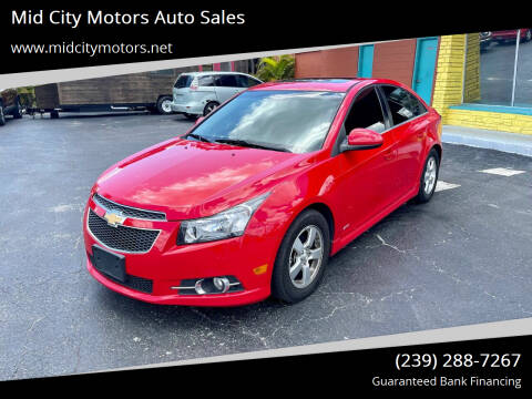 2014 Chevrolet Cruze for sale at Mid City Motors Auto Sales in Fort Myers FL