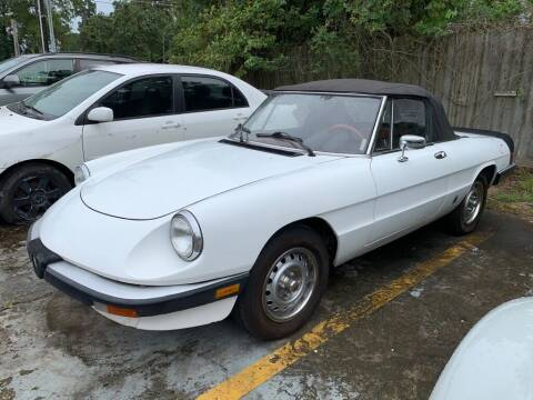 1985 Alfa Romeo Spider for sale at AUTO WOODLANDS in Magnolia TX