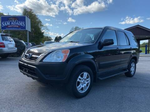2003 Honda CR-V for sale at Sam Adams Motors in Cedar Springs MI