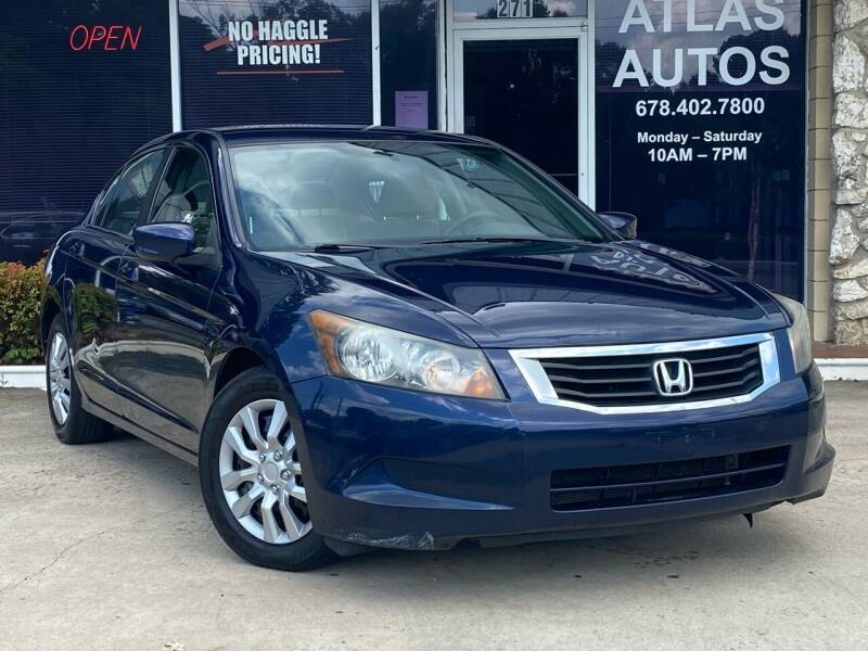 2010 Honda Accord for sale at ATLAS AUTOS in Marietta GA